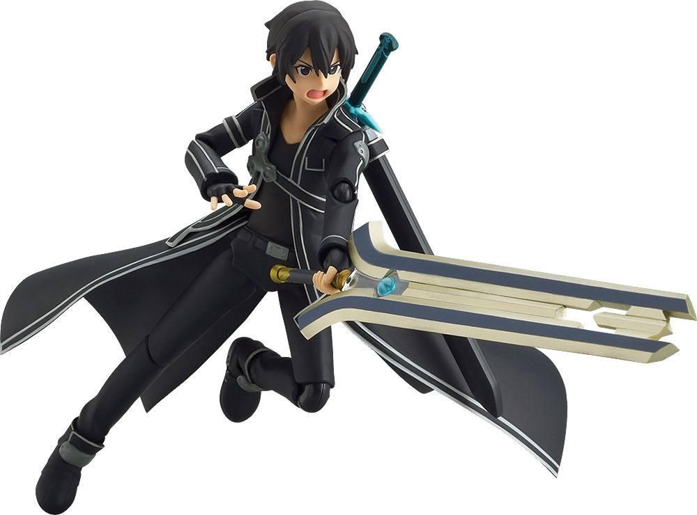 Sword Art Online The Movie Ordinal Scale Figma Action Figure Kirito O.S. Ver. 15 cm