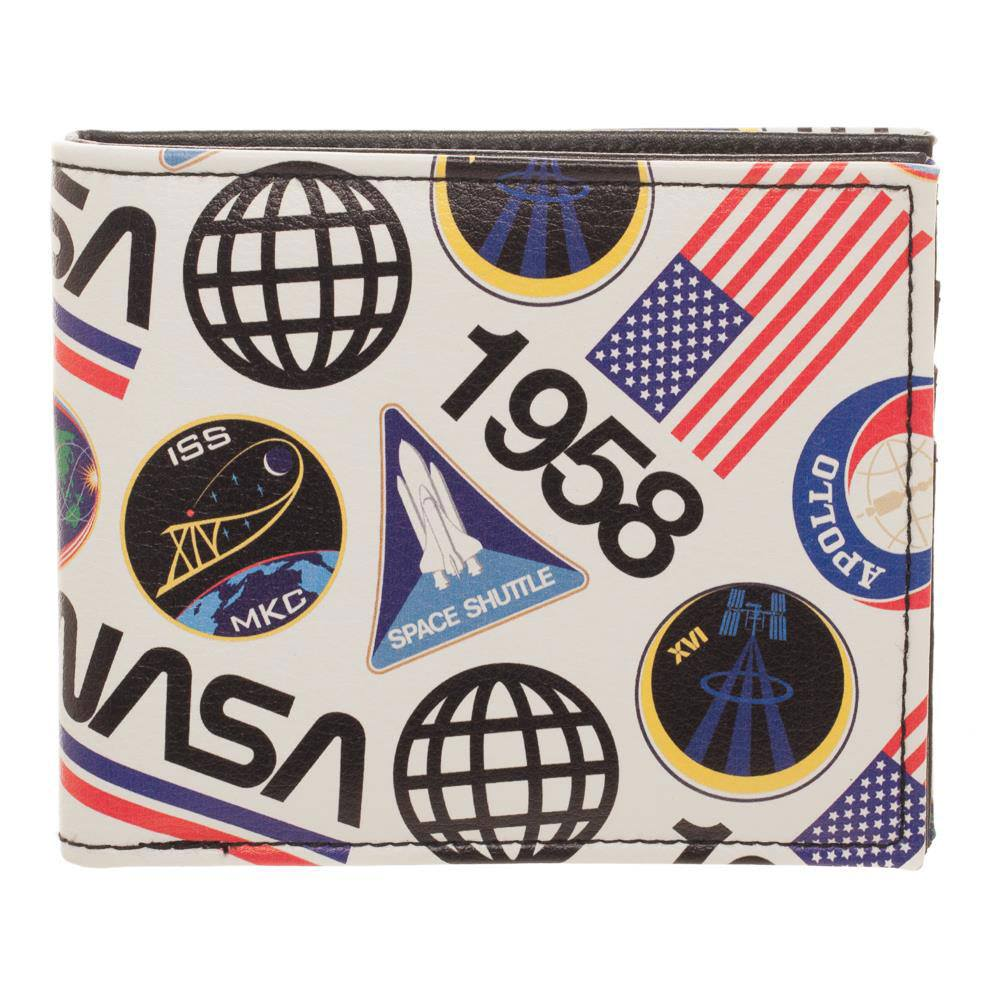 NASA Bifold Wallet Logo