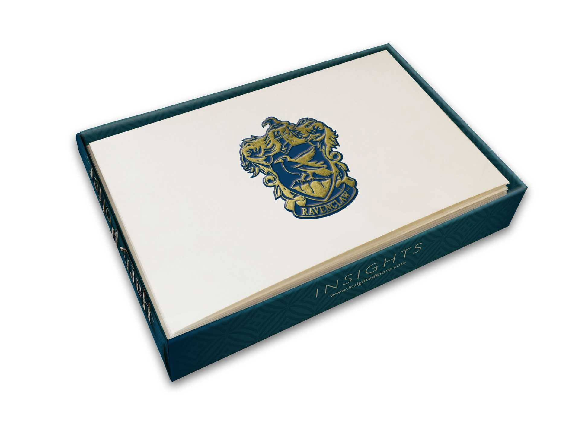 Harry Potter Foil Note Cards 10-Pack Ravenclaw 89 x 132 mm
