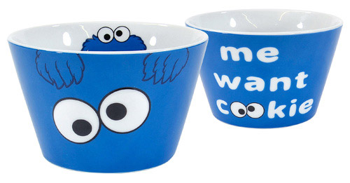 Sesame Street Bowl Me Want Cookie