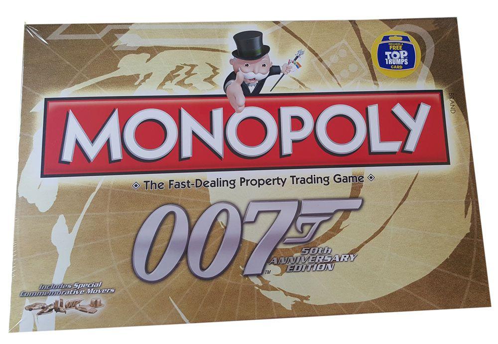 James Bond 50th Anniversary Board Game Monopoly *English Version*
