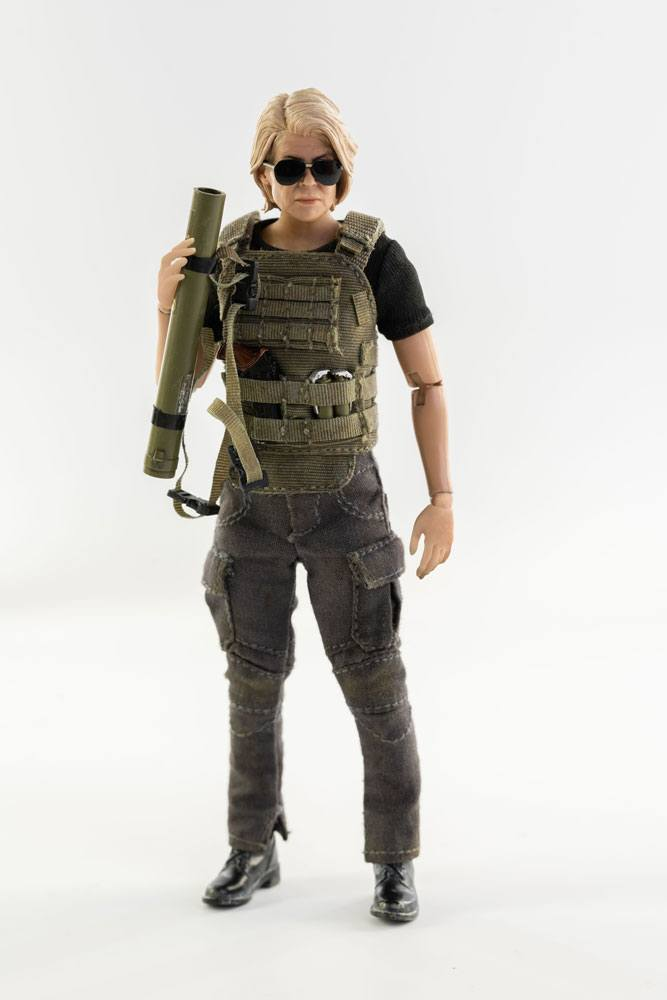Terminator: Dark Fate Action Figure 1/12 Sarah Connor 14 cm