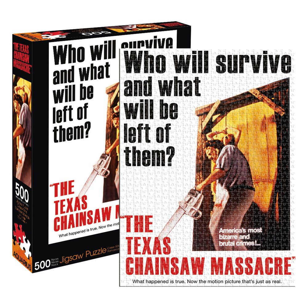 Texas Chainsaw Massacre Jigsaw Puzzle Who Will Survive (500 pieces)