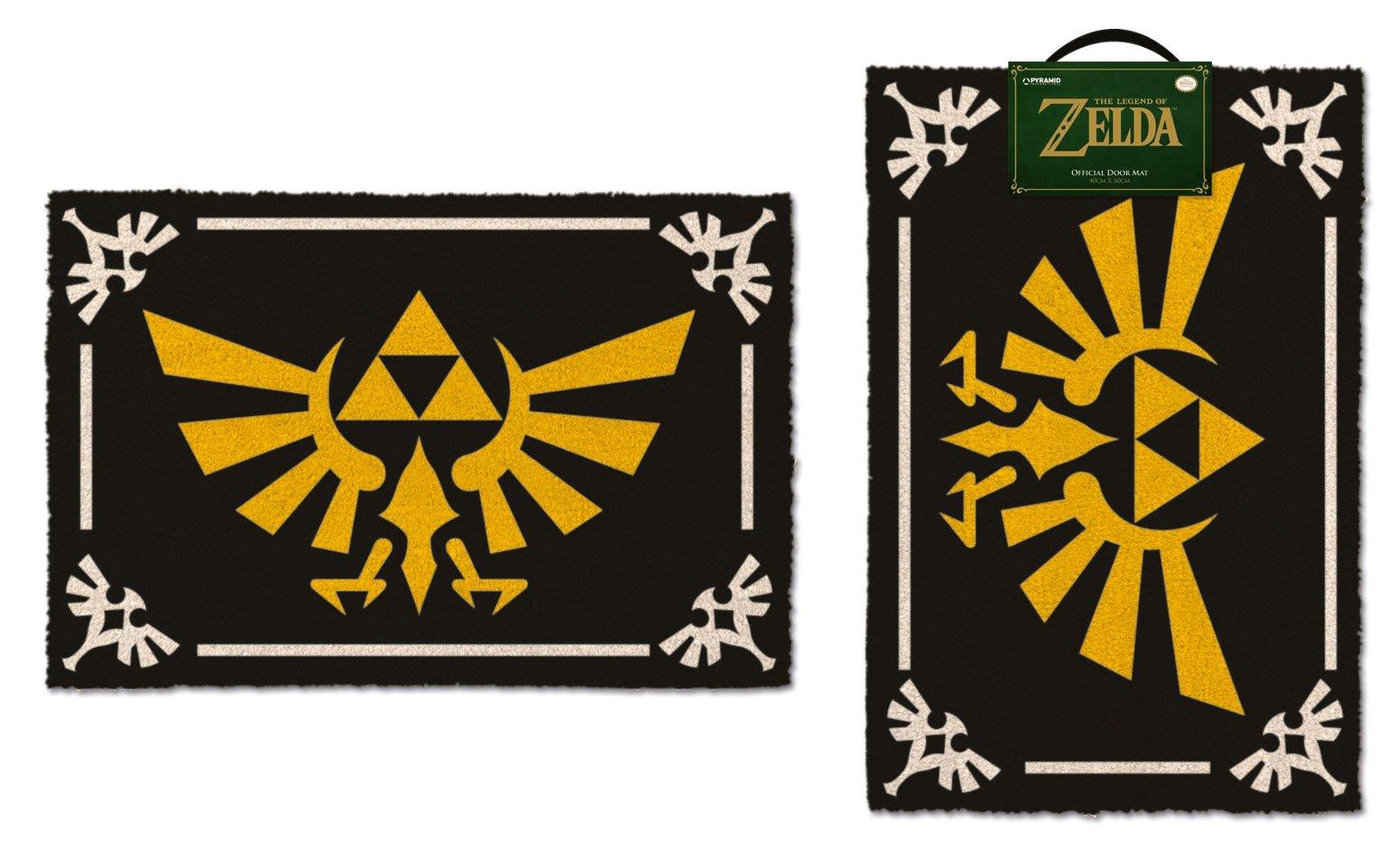 Legend of Zelda Doormat Triforce 40 x 60 cm