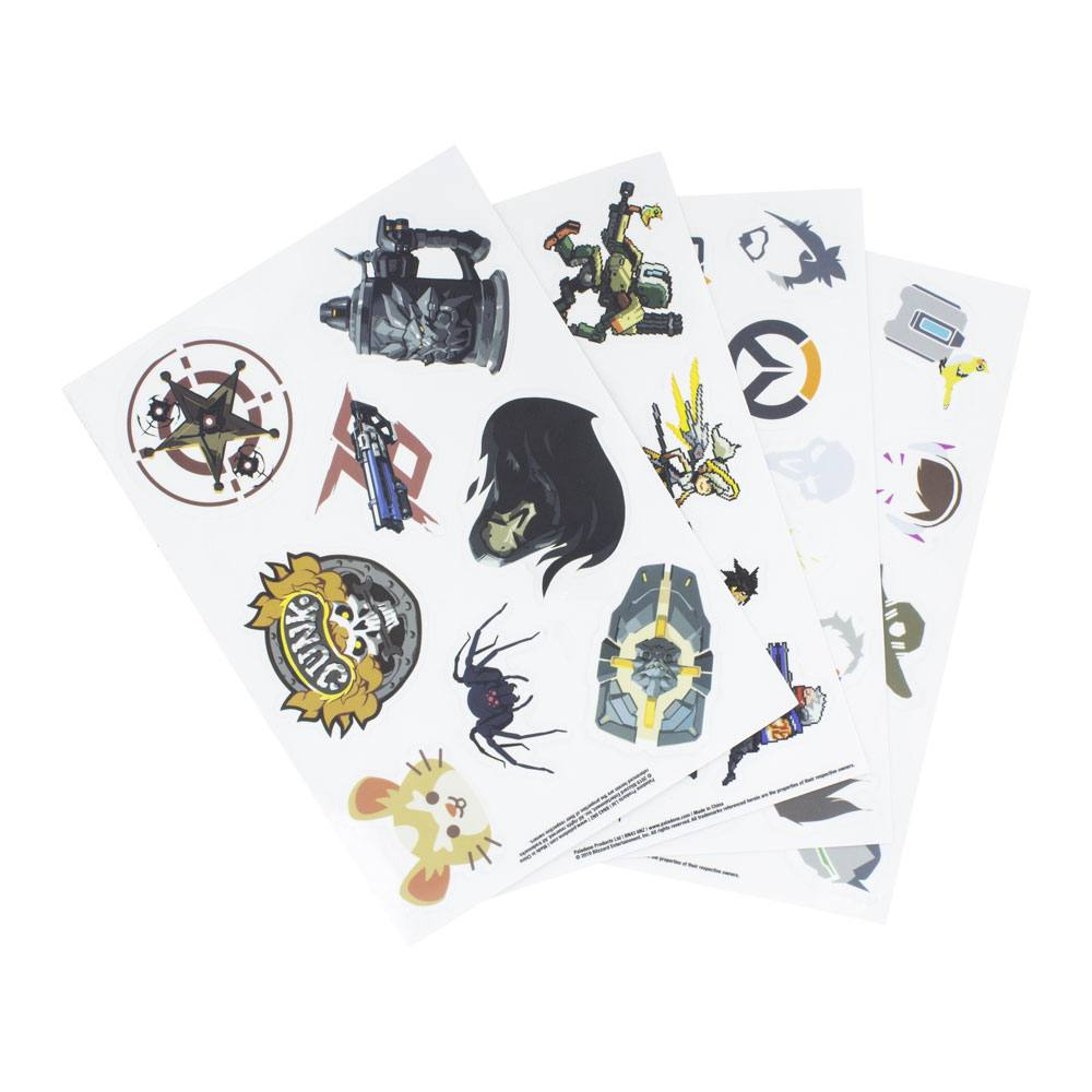 Overwatch Gadget Decals Iconic Characters