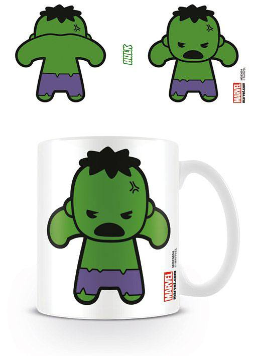 Marvel Comics Mug Kawaii Hulk