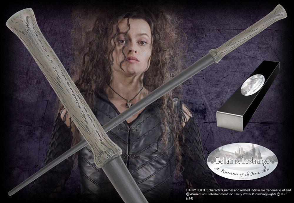 Harry Potter Wand Bellatrix Lestrange (Character-Edition) --- DAMAGED PACKAGING