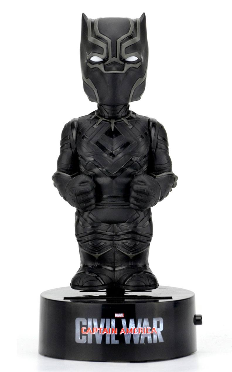 Captain America Civil War Body Knocker Bobble-Figure Black Panther 16 cm