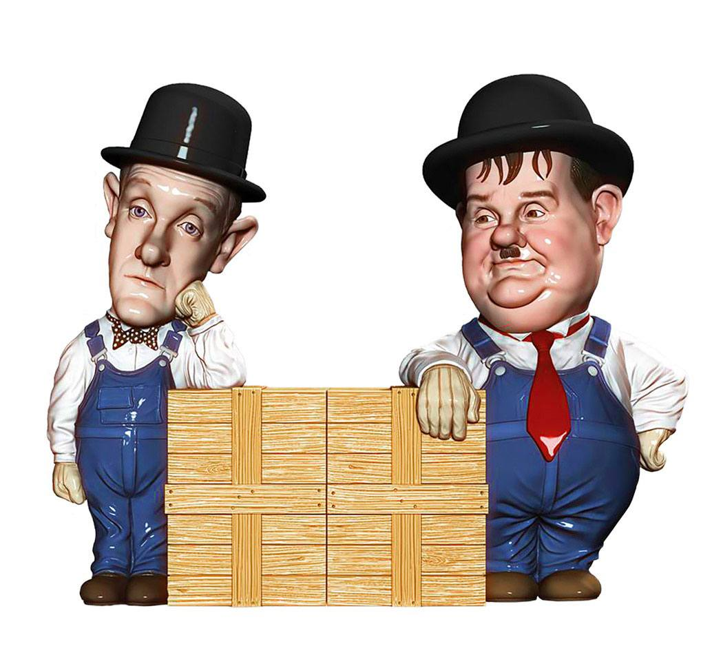 Laurel and Hardy Salt and Pepper Shakers Laurel & Hardy 10 cm