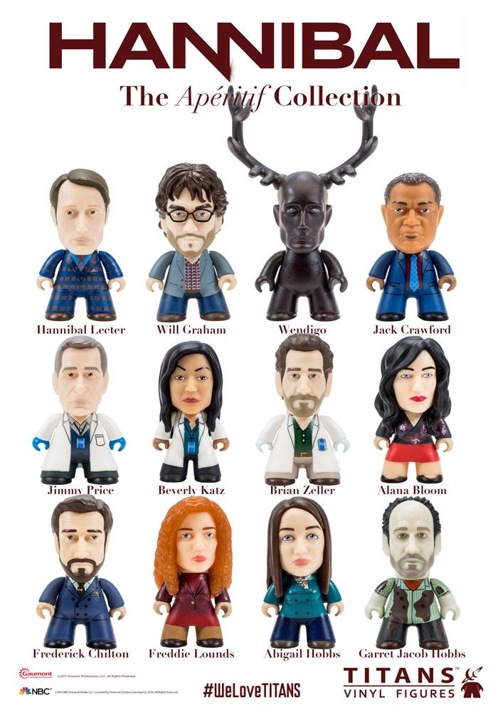 Hannibal Trading Figure The Apéritif Collection Titans Display 8 cm (20)