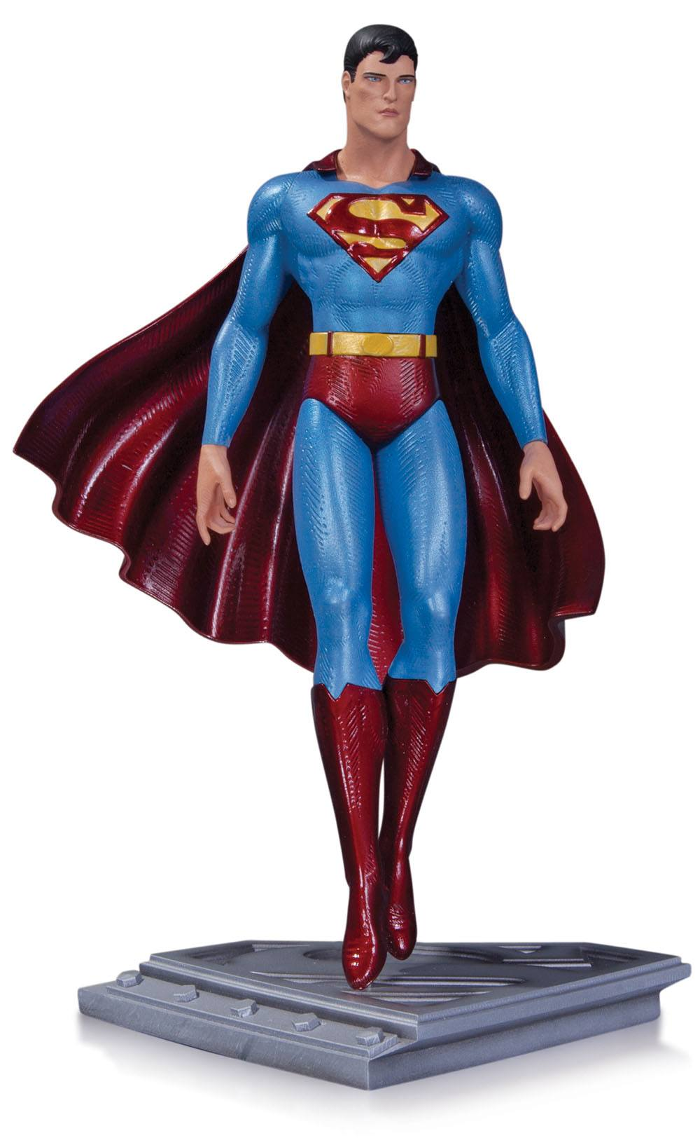 Superman The Man Of Steel Statue Moebius 20 cm --- DAMAGED PACKAGING