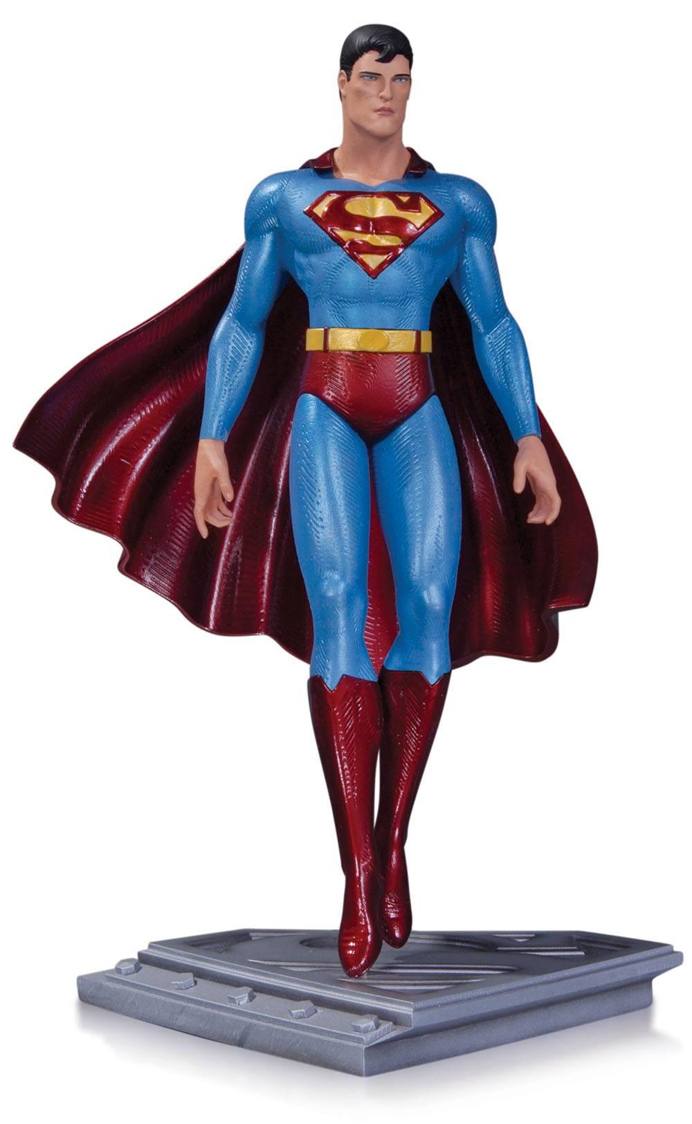 Superman The Man Of Steel Statue Moebius 20 cm