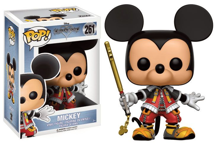 Kingdom Hearts POP! Disney Vinyl Figure Mickey 9 cm