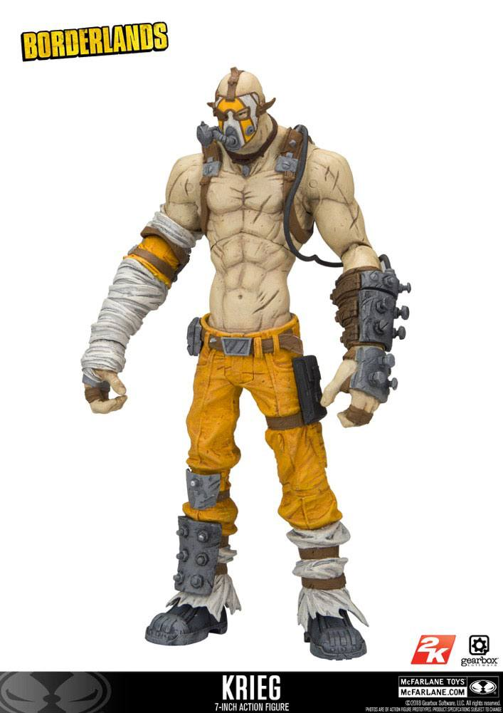 Borderlands Action Figure Krieg 18 cm