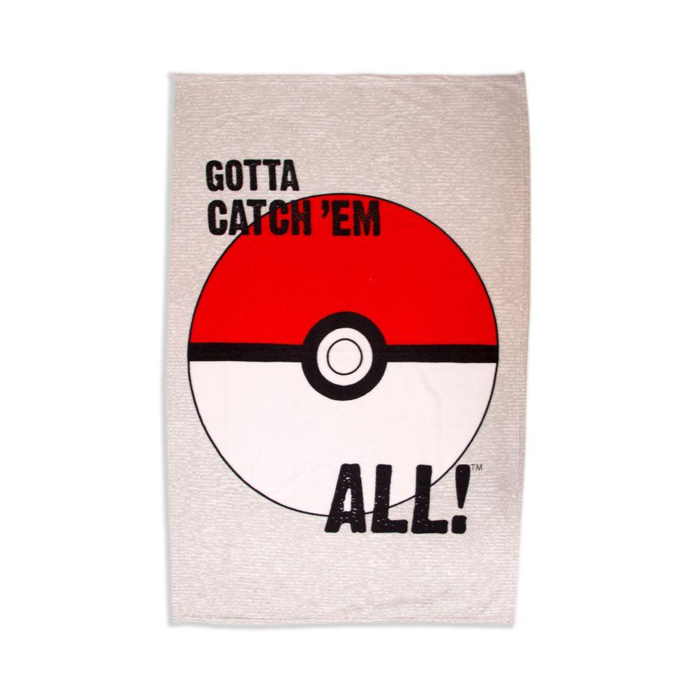 Pokemon Fleece Blanket Pokeball 100 x 150 cm