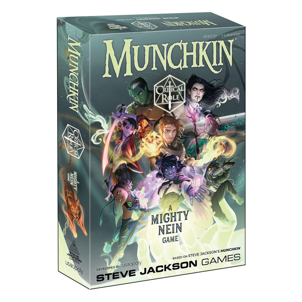 Munchkin Card Game Critical Role *English Version*