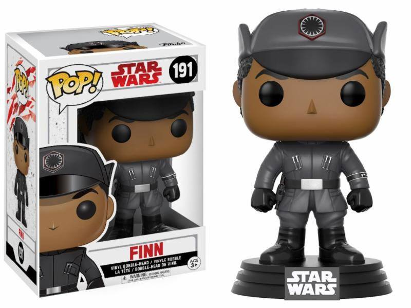 Star Wars Episode VIII POP! Vinyl Bobble-Head Finn 9 cm