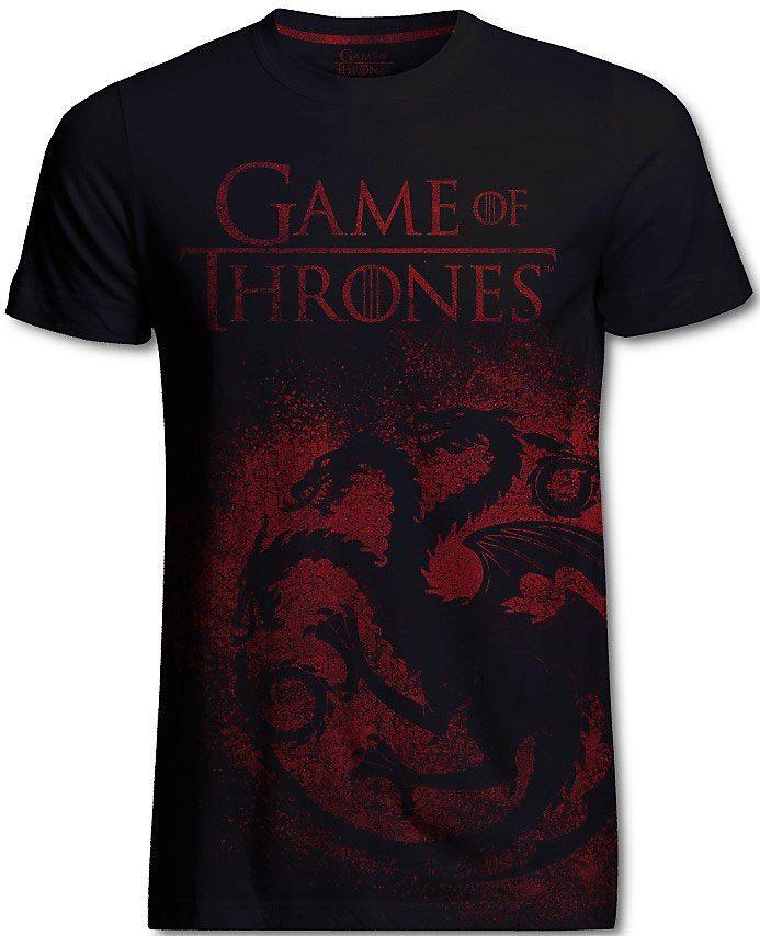 Game of Thrones T-Shirt Targaryen Jumbo Print Size L