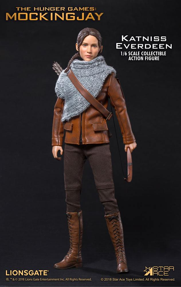 The Hunger Games Catching Fire MFM Action Figure 1/6 Katniss Everdeen Hunting Ver. 30 cm