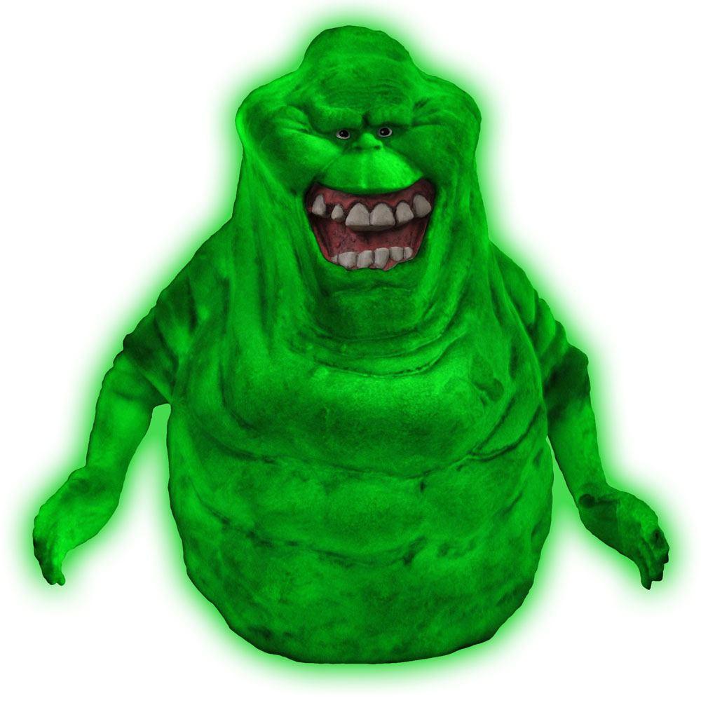 Ghostbusters Bust Bank Glow-In-The-Dark Slimer 20 cm