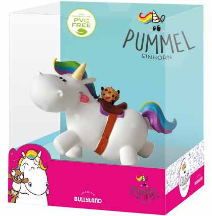 Chubby Unicorn Figure Chubby riding Single Pack 6 cm