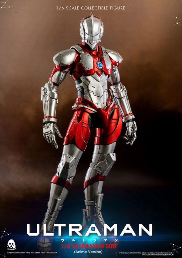 Ultraman Action Figure 1/6 Ultraman Suit Anime Version 31 cm