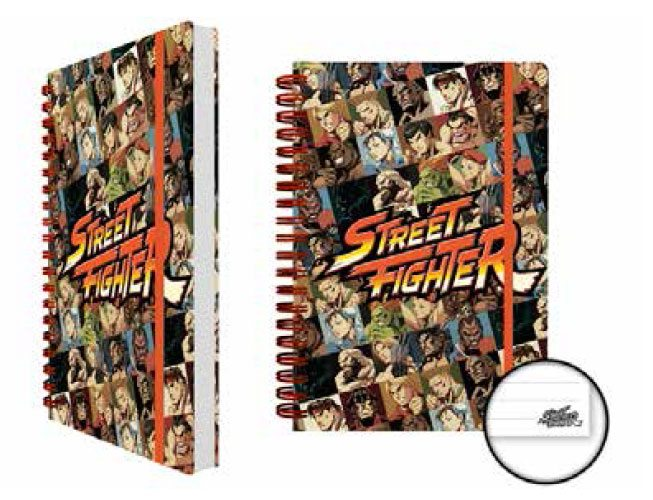 Street Fighter Notebook A5 Characters Case (12)