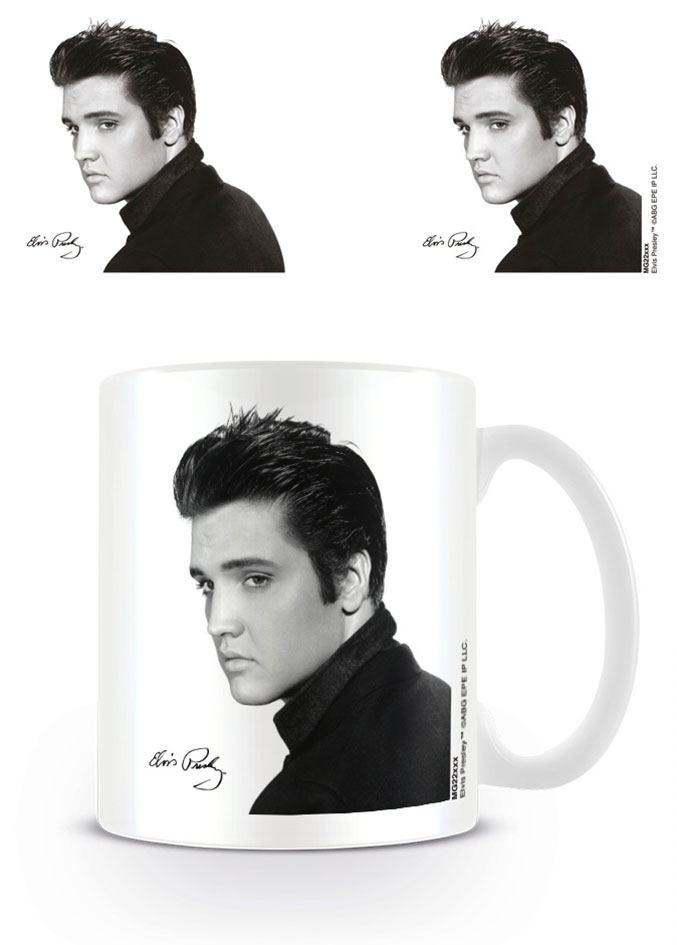 Elvis Presley Mug Portrait