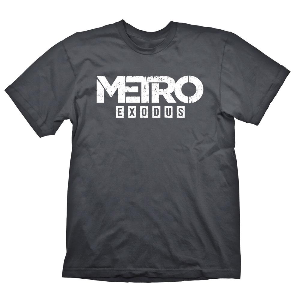Metro Exodus T-Shirt Logo Size M