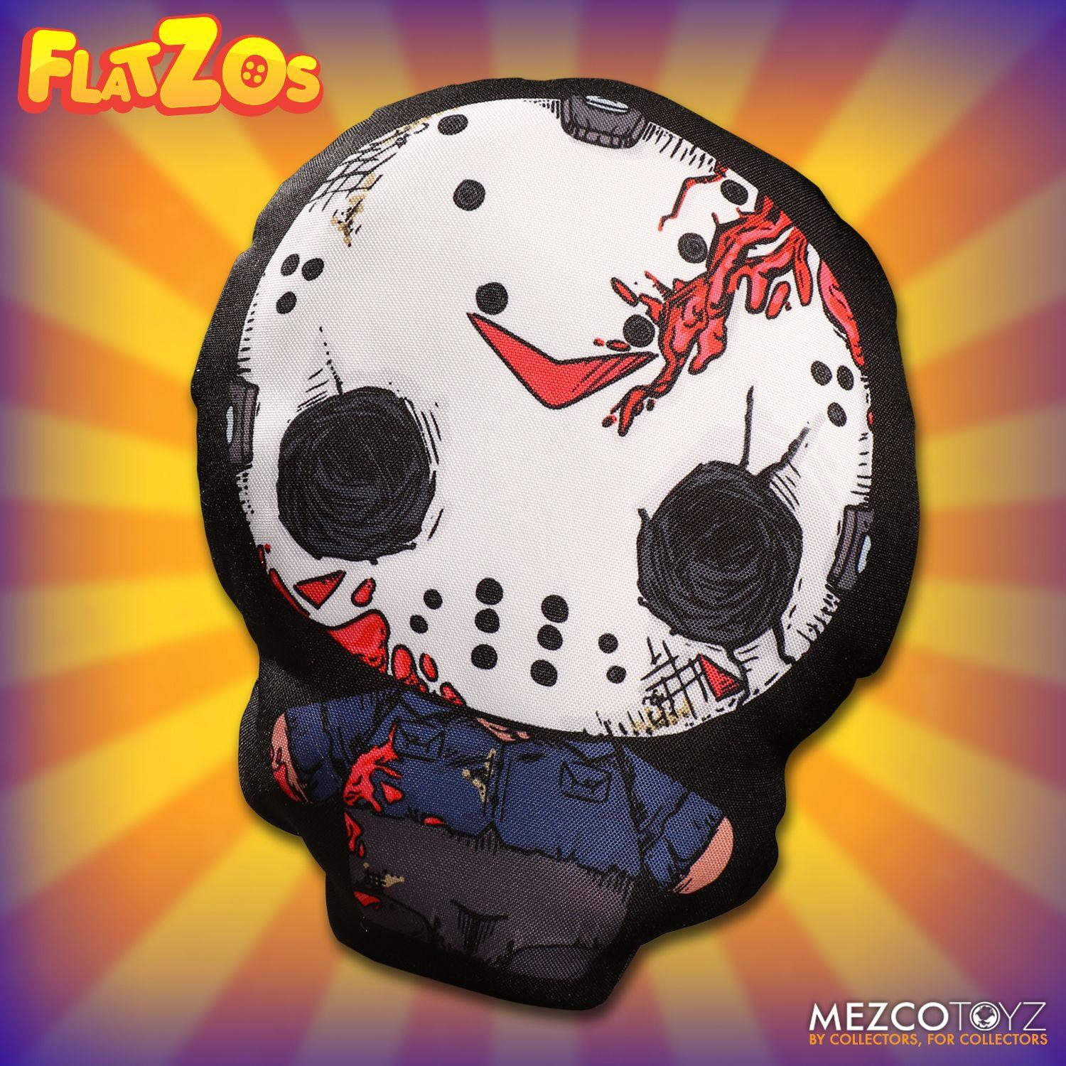 Friday the 13th Flatzos Plush Jason Voorhees 30 cm