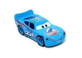 Cars Diecast Model 1/24 Dinoco Lightning McQueen