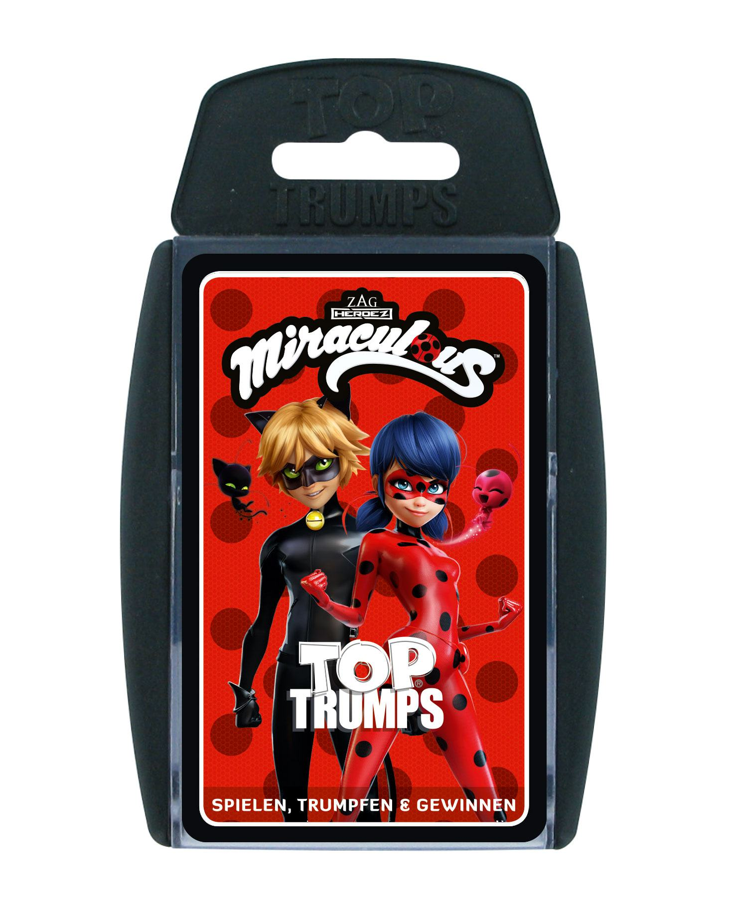 Miraculous: Tales of Ladybug & Cat Noir Card Game Top Trumps *German Version*