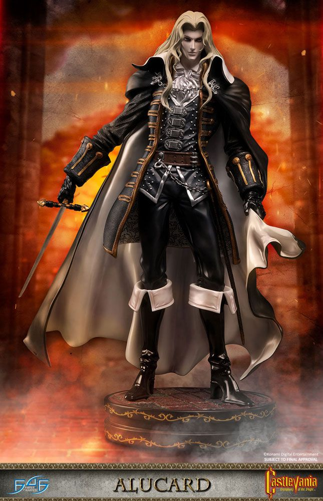 Castlevania Symphony of the Night Statue Alucard 53 cm