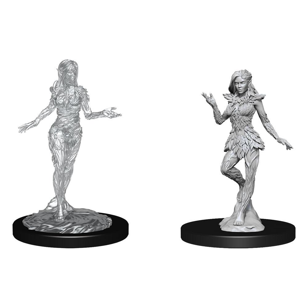 Pathfinder Battles Deep Cuts Unpainted Miniatures Nymph & Dryad Case (6)