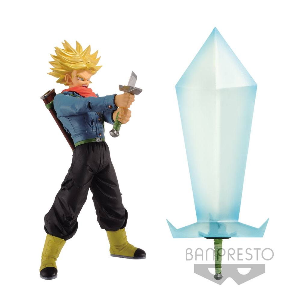 Dragon Ball Super Super Saiyan 2 Trunks Figure & Blade of Hope 24 cm