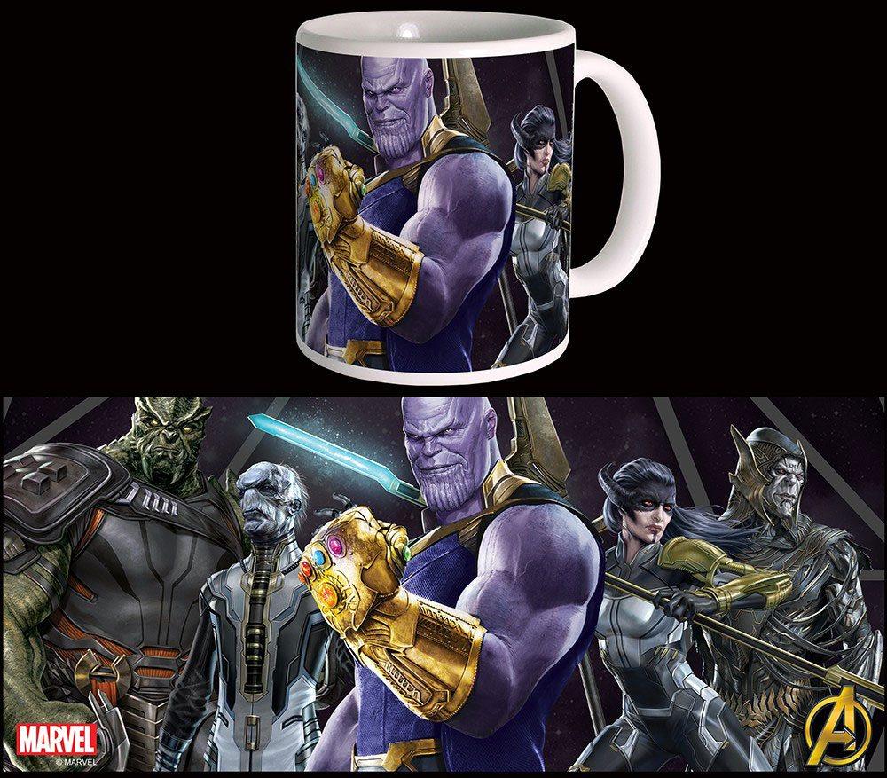 Avengers Infinity War Mug Black Order
