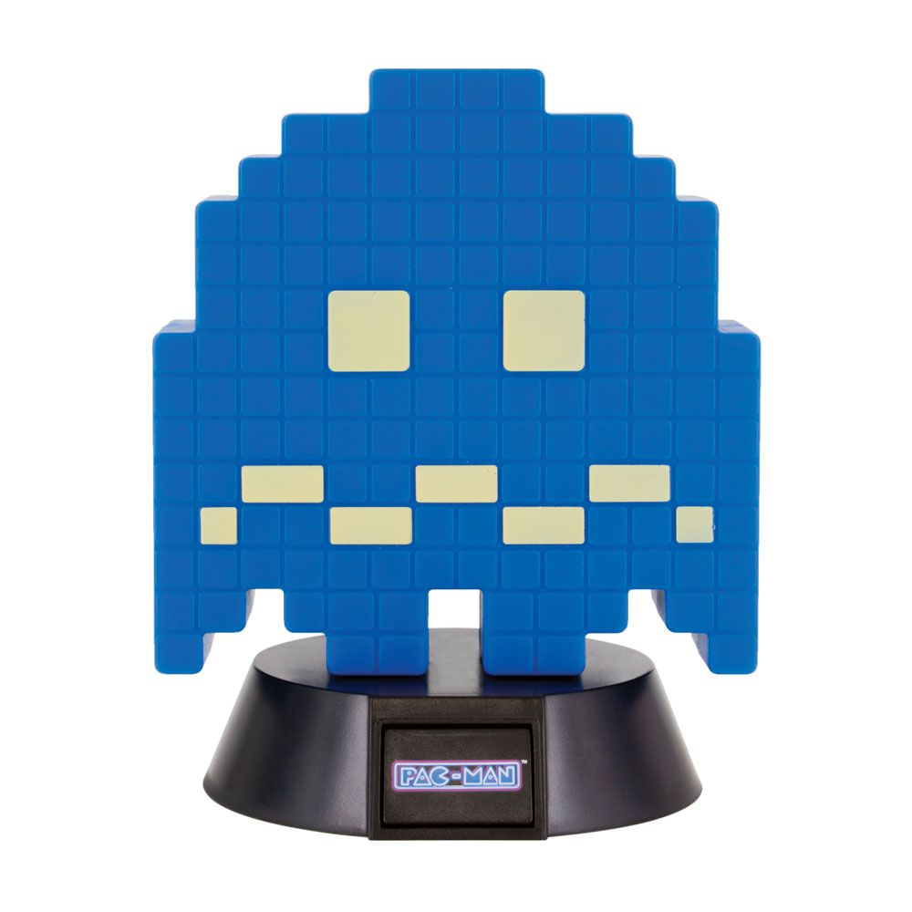 Pac-Man 3D Icon Light Turn To Blue Ghost 10 cm