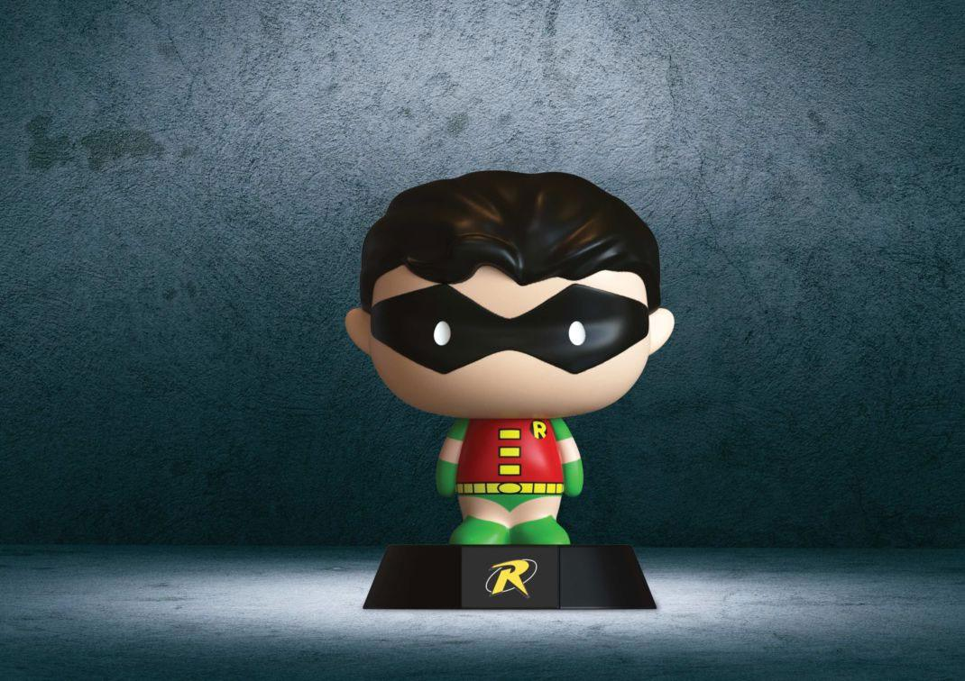 DC Comics 3D Icon Light Retro Robin 10 cm