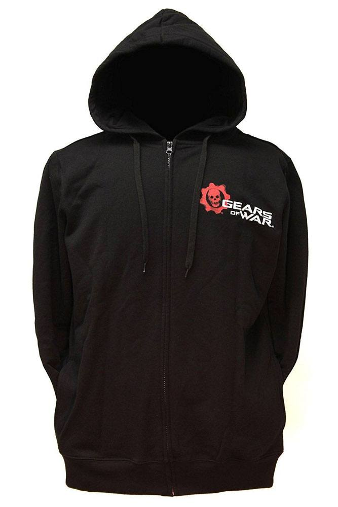 Gears of War Hooded Sweater Skull Logo Size M