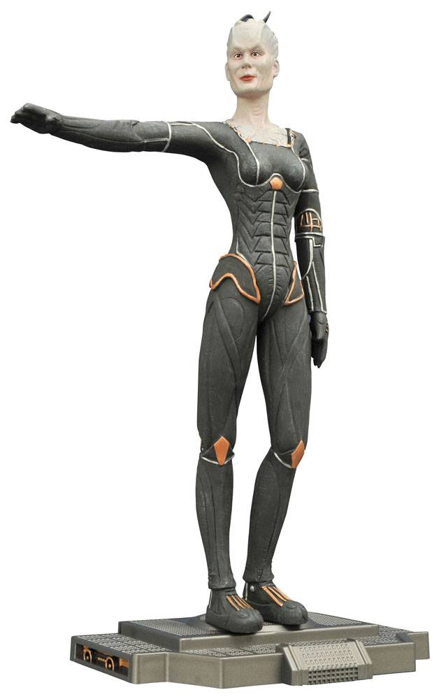 Star Trek First Contact Femme Fatales PVC Statue Borg Queen 23 cm --- DAMAGED PACKAGING