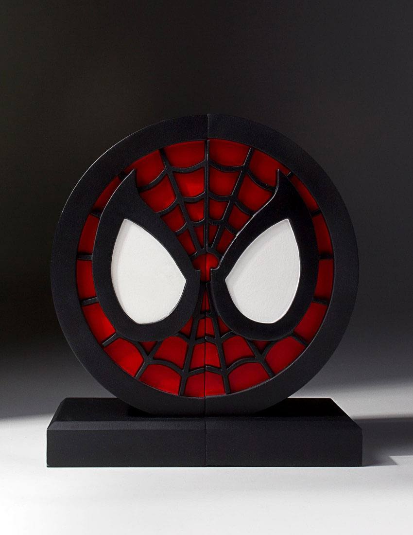 Marvel Comics Bookends Spider-Man Logo 16 cm