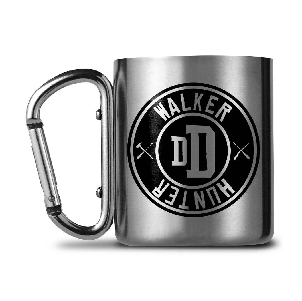 Walking Dead Carabiner Mug Walker Hunter