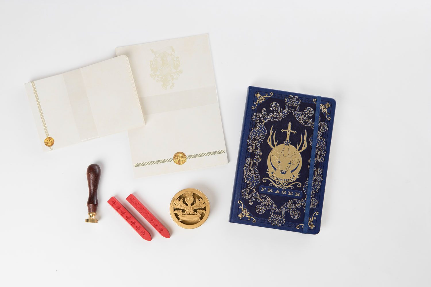 Outlander Deluxe Stationery Set Logo