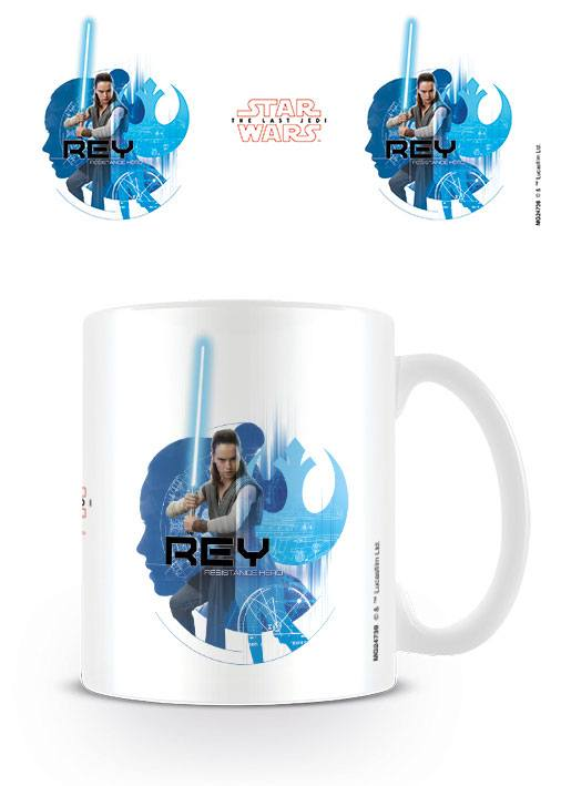 Star Wars Episode VIII Mug Rey Icons