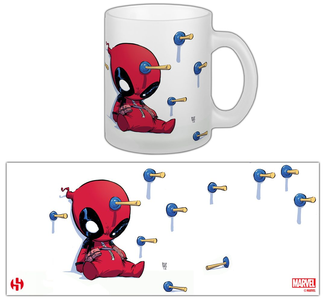 Marvel Comics Mug Deadpool Baby