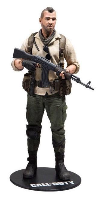 Call of Duty Action Figure John 'Soap' MacTavish incl. DLC 15 cm