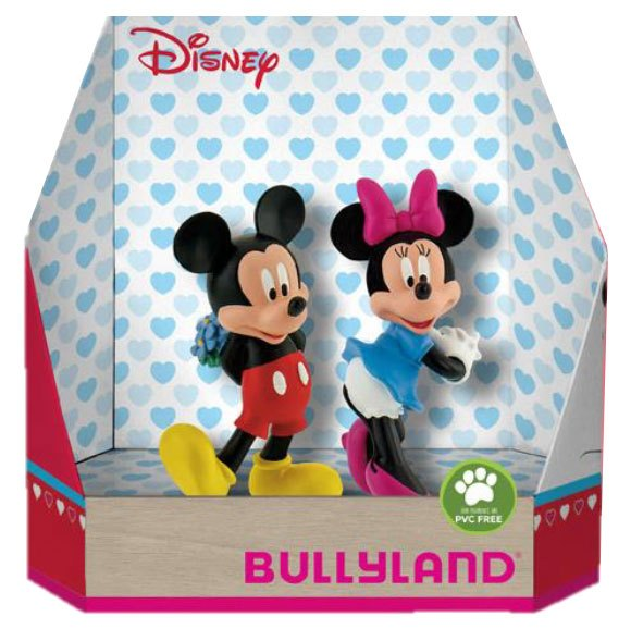 Disney Gift Box with 2 Figures Micky Valentine 8 - 10 cm