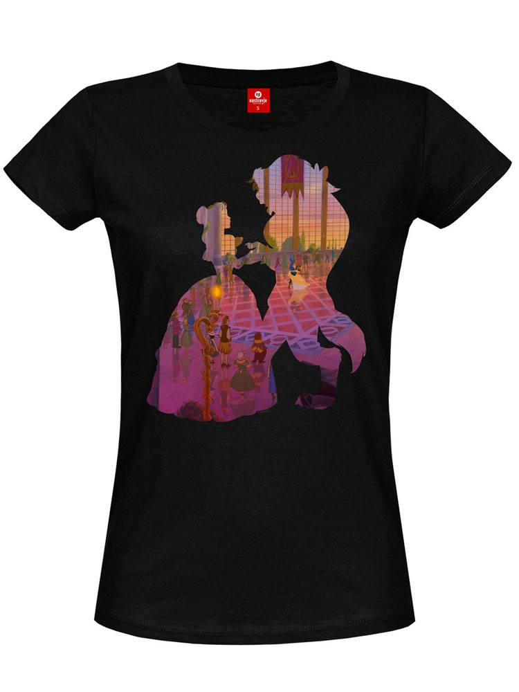 Beauty and the Beast Ladies T-Shirt The Ball Girl Size S