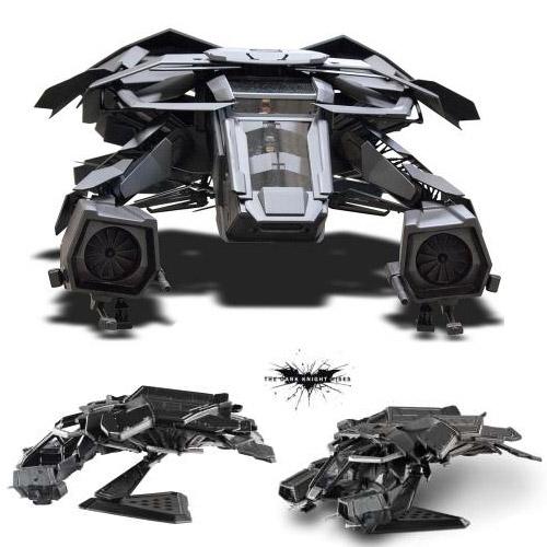 Batman The Dark Knight Rises Diecast Model 1/50 The Bat Plane