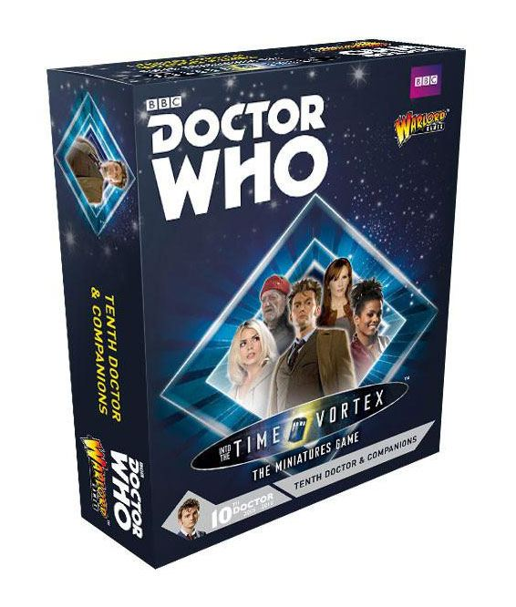 Doctor Who Exterminate! Expansion 10th Doctor and Companions *English Version*